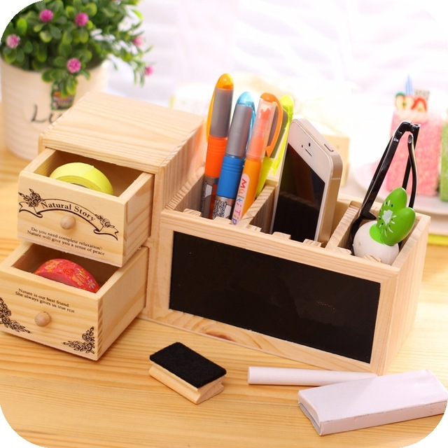 wonderful-aliexpress-buy-wooden-pen-holder-with-blackboard-cute-pertaining-to-pen-holder-for-desk-ordinary